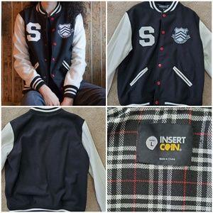 Unisex L Persona 5 Varsity Coat Jacket